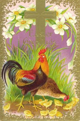 easter-rooster